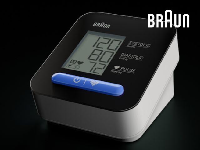 Überwachen Sie einfach Ihre Blutdruckwerte.