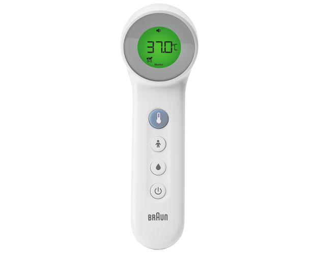 Braun No touch + forehead thermometer with Age Precision™