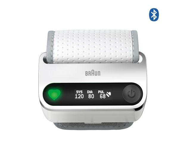 Braun iCheck 7 Handgelenk-Blutdruckmessgerät Voderansicht
