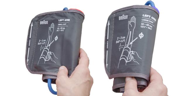 Braun ExactFit 3 2 cuffs