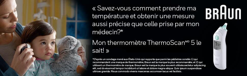 Braun IRT6030CA ThermoScan® 5 with ExactTemp™