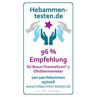 Hebammen testen empfehlung