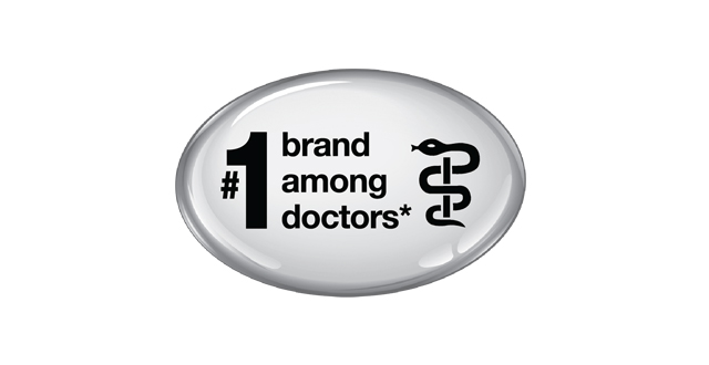 ThermoScan is the #1 grand among doctors silver badge