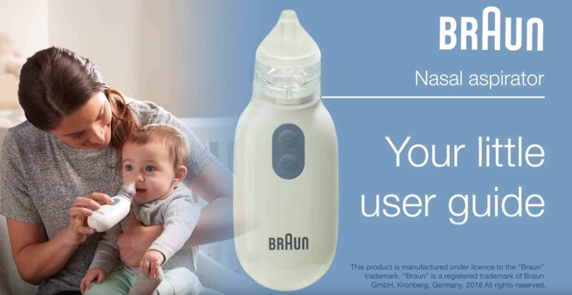 Braun BNA100CA Nasal Aspirator - Getting Started