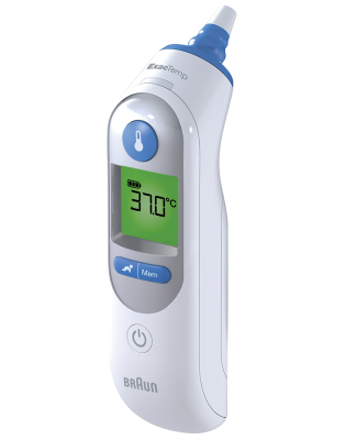 Braun IRT6520CA ThermoScan® 7 In-Ear Thermometer with Age Precision™