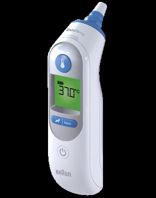 Thermomètre ThermoScanᴹᴰ 7 avec Age Precision IRT6520CA Braun