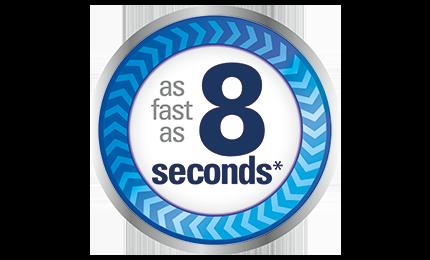 Braun PRT2000CA returns temperature reading as fast as 8 seconds
