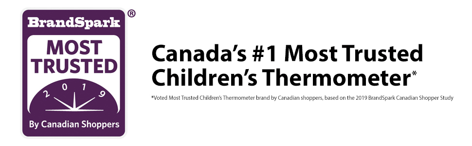 BrandSpark Canada's Most Trusted Children's Thermometer